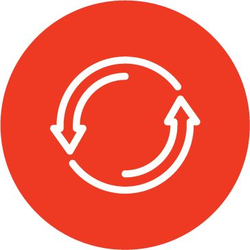 An icon of two rotating arrows